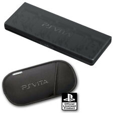 New Official PSVita PS Soft Carry Case Pouch & 10 in 1 Memory Game Card Holder