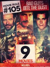 Movie Rule #105: Bad Guys Bite the Dust (DVD, 2014, 2-Disc Set) 9 Action movies
