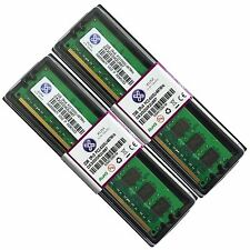 NUOVO 4gb 2x2gb ddr2 667 pc2 5300 NON ECC Memoria RAM 240-pin Desktop PC cl5 by XUM