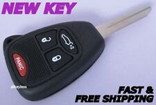 Replacement for CHRYSLER DODGE JEEP master key keyless entry remote fob OEM GUTS
