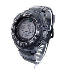 Casio PROTREK Solar Atomic Compass Altimeter Thermometer Tide Watch PRW2500-1AWC