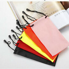 Enduring 5x Sunglasses Bag Pouch Soft Cloth Cleaning Optical Glasses Case TSUS