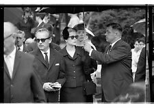 Princess Grace Kelly attends father's funeral in Philadelphia 1963 negative 35mm