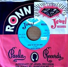 BUSTER BENTON - GOOD TO THE LAST DROP b/w MONEY IS THE NAME - JEWEL 45
