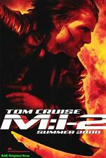 """MOVIE POSTER~Mission: Impossible 2 2000 D/S Original 27x40"""" One Sheet Theater~"""