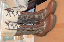 Ugg Australia Women's Adirondack Tall brown Boots 41 or 10