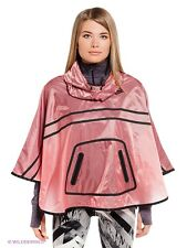 NIKE TECH HYPERFUSE PONCHO Size S (UK 8-10)/Rain coat/Hood/Running/Sport/Pink