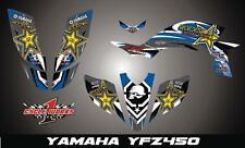 Yamaha YFZ 450 04-09  SEMI CUSTOM GRAPHICS KIT newstar