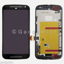 Motorola Moto G 2nd Gen XT1063 XT1064 LCD Screen Touch Screen Digitizer + Frame