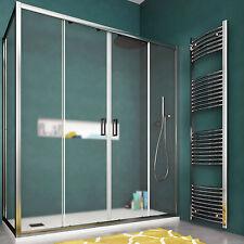 Box doccia 160x70 cristallo stampato apertura scorrevole con parete fissa novità