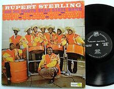 RUPERT STERLING and his North Star STEEL BAND LP Treasure 865 Calypso