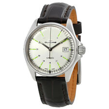 Glycine Combat 6 Silver Dial Automatic Mens Watch 3916.11S.LBK7F