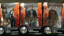 """NECA Terminator Genesis 7"""" Action Figures Guardian T-800 and T-1000 New"""