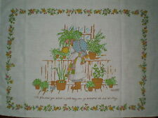 Vintage HOLLY HOBBIE Fabric Panel #2 (69cm x 52cm) Trademarked