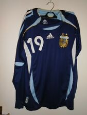 Argentina 2006 2007 away fanshirt medium messi 19 long sleeves
