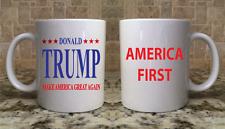 Ceramic Coffee Tea Mug Cup 11oz Trump Make America Great Again America First