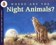Where Are the Night Animals? Let's-Read-and-Find-Out Science 1)