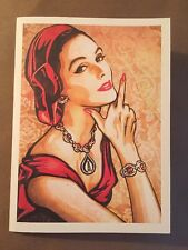 Shepard Fairey Letterpress Print Jacob Lewis Gallery Invite Rare Sold Out Banksy
