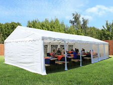 *QLD PICKUP* Galvanised pole Commercial Grade Heavy Duty gazebo marquee 6x12M