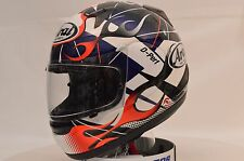 Arai RX-Q Flame Sport Full Face Motorcycle Helmet Md Open Box 817932
