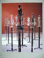 Robert Graham Art Gallery Exhibit PRINT AD - 1994 ~~ Eight Statues