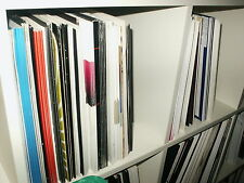 "VINYL RECORDS COLLECTION -HOUSE, PROGRESSIVE TECH TRANCE TECHNO 12"" JOB LOT NEW1"