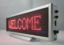 New Red LED Message Sign Display Panel Mini Board 16x64