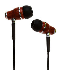 Symphonized NRG Premium Genuine Wood In-ear Noise-isolating Headphones (Black)
