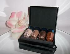 Authentic MAC Irresistibly Charming GOLD Mini Pigments + Glitter 4pc Gift Set