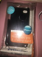 Philips iPhone 4 Black Printed Grip Case