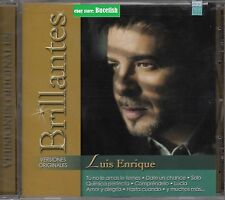 Luis Enrique Serie Billantes Versiones Originales CD New Nuevo sealed