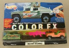 New Hot Wheels Color FX Military Machines Command Tank Color Change 1994 RARE