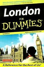 LONDON FOR DUMMIES - USED BOOK - 1ST EDITION