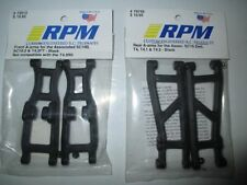 RPM Team Associated SC10 2wd Front & Rear Suspension Arms Black 2 Pair