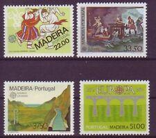 Portugal-Madeira postfrisch  Europa 1981-1984/  MiNr,  70  77  84  90