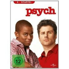 PSYCH - SEASON 3 4 DVD MIT JAMES RODAY NEU