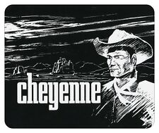 CHEYENNE  MOUSE PAD. CLINT WALKER. WB TV LOGO.....NEW