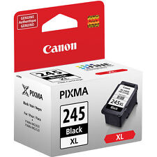 Genuine Canon PG245 XL large black ink cartridge 245 PIXMA iP2820 MG2420 MG2520
