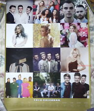 One Direction Perfect /Sia This Is Acting Taiwan Promo 2016-year Calendar Poster