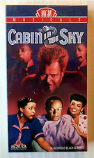 Cabin in the Sky ~ New VHS Rare Lena Horne MGM Musical ~ Classic B&W Movie