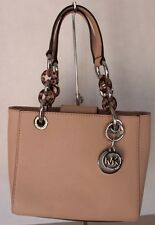 New Michael Kors Ballet Cynthia XS Satchel Saffino Leather Handbag Purse