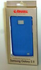 Krusell ColorCover - Schutzabdeckung für Samsung I9100 GALAXY S II - Blau - NEU