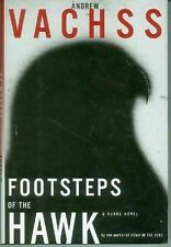 Andrew Vachss: Footsteps of the Hawk (HC, 1st printing, USA)