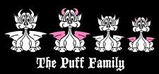 Dragon Family Vinyl Car Decal Sticker Custom Made Personalized