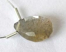 LABRADORITE BEAD FACETED PEAR 7X10 MM 2 CTS 1 PC LOOSE BEAD #C7534-r
