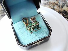 Juicy Couture Charm Bracelet Frog Charm w/ gold clip NWT