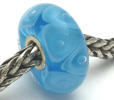 Authentic Trollbeads Ooak Murano Glass Unique Blue Bead #68 Charm New
