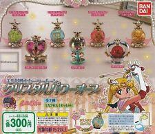 Bandai Sailor Moon Super S Crystal Change Rod 1X RANDOM Water Globe Mini Bottle