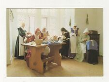 Kentwell Hall Long Melford Tudor Life Needlewomen At Broderie Postcard 867a