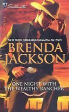 One Night with the Wealthy Rancher by Brenda Jackson (2009, E-book)